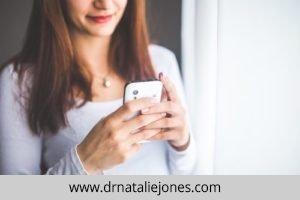 woman smartphone girl technology